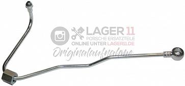 Ölleitung zum rechten hydraulischen Kettenspanner Metall für alle für Porsche 911 3.2