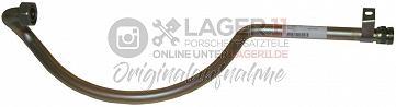 Ölleitung zwischen Öltank und Motor unter Getriebe für Porsche 911 73 - 74 u. 911S 75 - 77 mit alten Wärmetauschern
