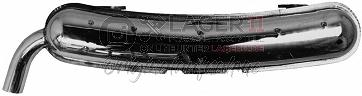 Auspuffendtopf Edelstahl POLIERT für Porsche 911