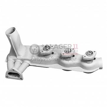 Wärmetauscher Stahl Links / Rechts gleich für Porsche 911 3.2 Carrera 84 - 89 (auch Turbo)