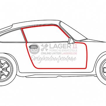 Türgummi Coupe links und rechts gleich für Porsche 911 / 964 65 - 93