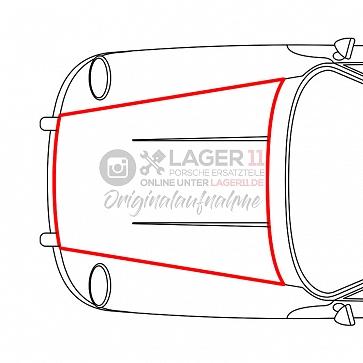 Kofferraumgummidichtung für Porsche 911 74 - 89