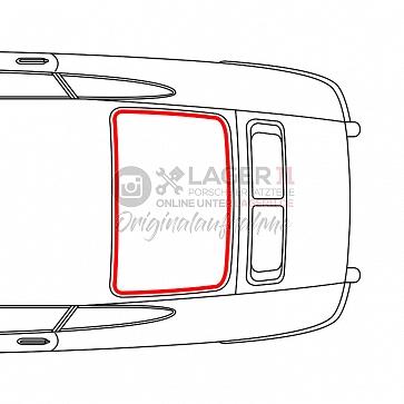 Heckscheibengummidichtung für Porsche 964 Coupe 89-93