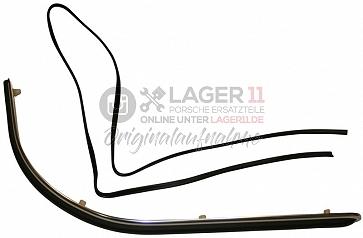 Stoßstangenzierleiste hinten lang breit für Porsche 911S 65-68
