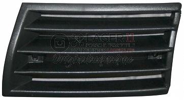 Horngitter Plastik in schwarz links für Porsche 911 69-73