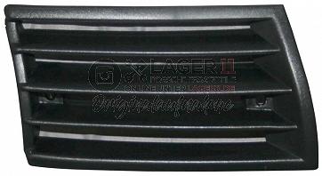 Horngitter Plastik in schwarz rechts für Porsche 911 69-73