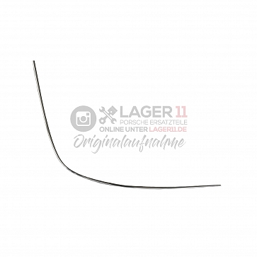 Zierleiste für Heckscheibe Targa / Chrom links für Porsche 911 68 - 75