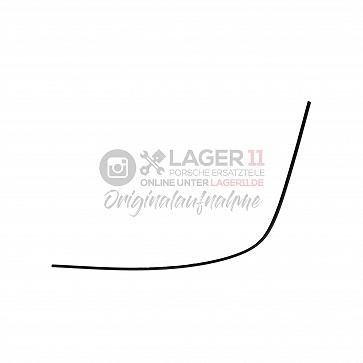 Zierleiste für Heckscheibe Targa / schwarz rechts für Porsche 911 75 - 89