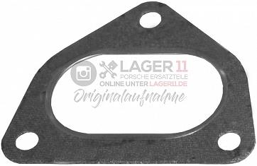 Wärmetauscher Dichtung zum Vorschalldämfer / Verbindungsrohr für Porsche 911 2.7 - 3.2 Carrera 8/75 - 89 (auch Turbo)