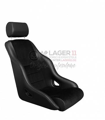 Sitz Rally ST GTR70 Kunstleder / Cord schwarz für Porsche 911 65 - 89