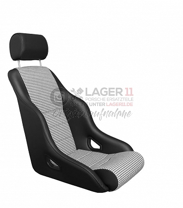 Sitz Rally ST GTR75 Kunstleder / Pepita schwarz für Porsche 911 65 - 89