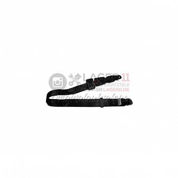 Statischer Beckengurt (schwarz) Set mit 15cm Bandschloss und Montagematerial für Porsche 911 69-89