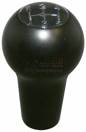 Gear knob, 5 speed, glossy black