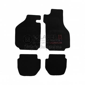 Fußmattensatz für Porsche 911 Targa / Cabrio schwarz