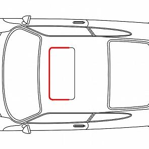 Schiebedachdichtung vorne für Porsche 911 / 964 65 - 93