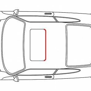 Schiebedachdichtung hinten für Porsche 911 / 964 65-93