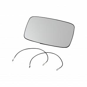 Aussenspiegelglas für elektrisch, beheizte Spiegel links und rechts gleich für Porsche 911 87 - 90